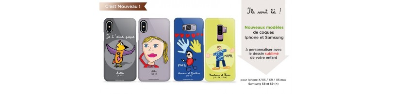 coques personnalisees